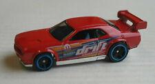 Hot Wheels Dodge Challenger Drift Car rot Auto PKW HW Mopar Mattel US-Car red