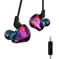KZ ZST Pro Armature Dual Driver Earphone Wired Detachable In-Ear Earbuds w/Mic