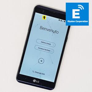 LG X Power (K220) 16GB 4G - Dual Sim Smartphone - Blue - Unlocked -Grade D #2507