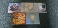 Anthrax - CD Bundle x5 - All Exc. Cond. See photos for CD's and Item desc'n