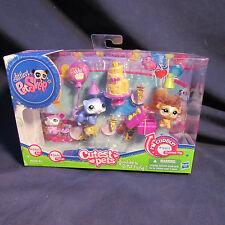 Littlest Pet Shop Cutest Pets Goodies & Gifts Party with Rat 2489, Ferret 2490