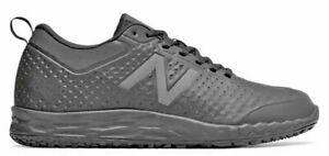 New Balance Men's Black Slip Resistant Fresh Foam Sneakers MID806K1 Size 12 New
