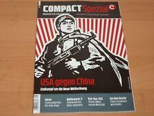 "COMPACT Spezial Magazin für Souveränität ""USA gegen China"" Ausgabe 16/2018 1A!"