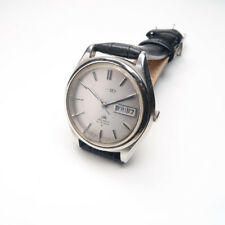 Vintage SEIKO LORD MATIC 5606-7070 AUTOMATIC STAINLESS Mens Watch from JAPAN W1