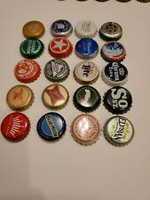 Most All Craft Beer Bottle Caps Undented All Unique No Dent Used Lot of 20