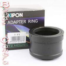Kipon T2 T-2 telephoto lens to Fujifilm X-Pro1 FX mount Adapter X-E1 E2 T1 M1 A1