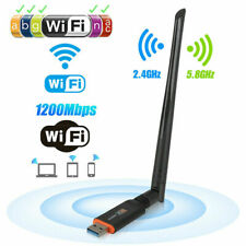 Usb3.0 Wireless WiFi Adapter Dual Band 1200Mbps Network Card Antenna for Pc Gt#