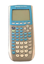 Texas Instruments Ti-84 Plus Silver Edition Graphing Calculator - Silver, Blue