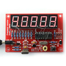 DIY Kits 1Hz-50MHz Crystal Oscillator Frequency Counter Meter Digital LED PIC