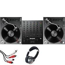 Numark TT250 DJ USB Vinyl Turntables & Numark M6 Four-Channel USB Mixer Package