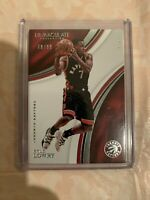 2016-17 Panini Immaculate Collection Kyle Lowry No. 65 #d /99 Toronto Raptors