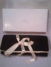Swarovski Black and Champagne Crystal Accented Jewelry Roll – New in Box