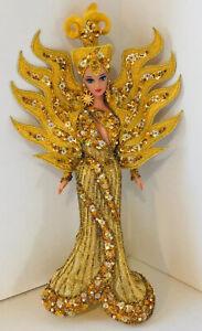 1995 Goddess of the Sun Barbie Doll Bob Mackie Gold Beaded Original Outfit