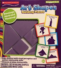 """Scholastic Art Shapes """"Building Pieces"""" Develops Abstract Thinking~Grades 1 to 2"""