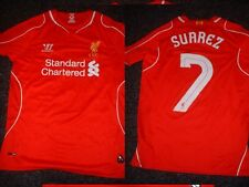 Liverpool SUAREZ Boys Youth XL Football Soccer Jersey Shirt Warrior Top Uruguay
