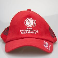 Coca Cola Coke Embroided Cap FIFA 2006 RED Hat NEW Promotional Item