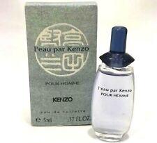 KENZO L'eau Par Kenzo Pour Homme 0.17oz EDT MINI TRAVEL SAMPLE Men  (BA03
