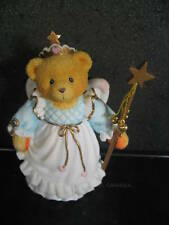 Cherished Teddies Kittie '96 Bear Fairy New In Box #131865 New Old Stock