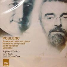Poulenc(CD Album)Sonata For Cello And Piano-ASV Gold-GLD 4014-New & Sealed
