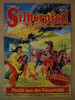 SILBERPFEIL Nr. 485 Flucht aus der Feuerhölle 1-2 Bastei-Verlag Orginal