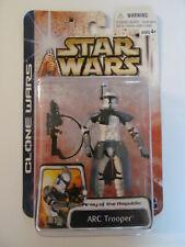 Star Wars - Clone Wars Toy Figure - ARC Trooper (Blue) - Sealed - Light Wear