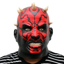 Star Wars Movie Darth Maul Mask Scary Horror Halloween Cosplay Party Props Ball