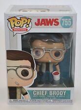 Jaws Chief Brody Funko Pop Vinyl Figure Brand New Movies 755