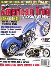 "American Iron Magazine : February 2007 (Harleys Hot Rod : 110"" Dyna CVO Road Te"