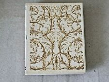 All Night Media Leaf Design Mounted Large Rubber Stamping & Embossing Stamp New