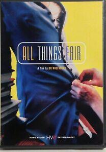 All Things Fair (DVD) Johan Bo Widerberg, Swedish Danish 1995 RARE OOP Movie