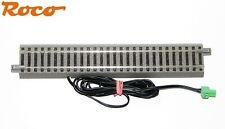 Roco H0 61110-A gerades Gleis geoLine mit Einspeisung + Z21 Steckerklemme - NEU