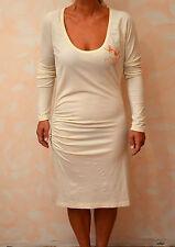 jolie robe blanche  ED HARDY taille L ** NEUVE ÉTIQUETTE **