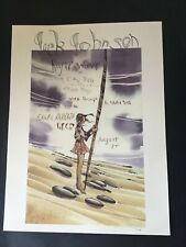 Very Rare Jack Johnson Santa Barbara Rouge Wave UCSB poster only 300 printed