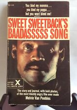 Sweet Sweetback's Baadasssss Song by Melvin Van Peebles; Vintage; Illustrated
