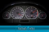 Tachoscheiben für BMW 300 kmh Tacho E46 Diesel M3 Carbon 3324 Tachoscheibe km/h