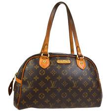 LOUIS VUITTON MONTORGUEIL PM SHOULDER BAG PURSE MONOGRAM M95565 zm 30771