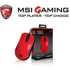 Steelseries KINZU V3 Optical Gaming Mouse - Red/Black Limited MSI Edition