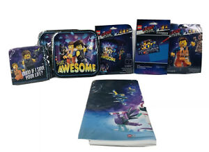 The Lego Movie 2 Party Pack with Napkins, 2 Plate Sets, Balloons and Tablecover