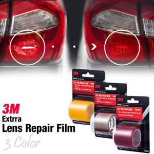 Car Exterior Repair Broken Lamp Extra Restore Film 3 Color for Universal Vehicle