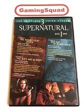 Supernatural Season 3 Ep 1-7 DVD, Supplied by Gaming Squad