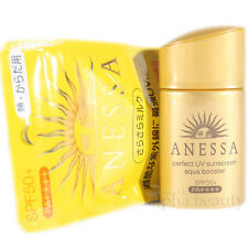 Shiseido Japan Anessa Perfect UV Aqua Booster Sunscreen Lotion 25ml SPF50+ 2017
