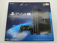 Open Box Sony PlayStation 4 PS4 Pro 1TB Console Jet Black CUH-7215B -DS2874