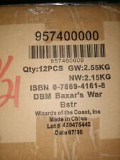 Dreamblade Factory Sealed Case * Baxar's War Set  Booster Packs * NIB * RARE