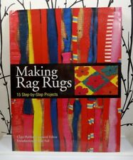 Making Rag Rugs Book * Modern Twist on Traditional Techniques