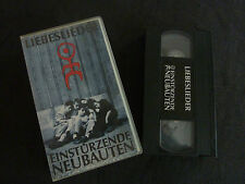 EINSTURZENDE NEUBAUTEN LIEBESLIEDER ULTRA RARE PAL VHS VIDEO!