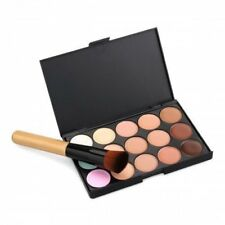 15 color corrector paleta Kit cepillo gratis maquillaje contorno  para la cara