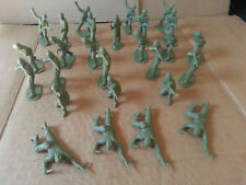 Vintage Airfix Model WW2 British Commando Plastic Toy Soldiers 1:32 Scale