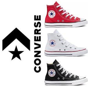 Converse Chuck Taylor All Star Hi Sneaker Bambino/Bambina Vari Colori
