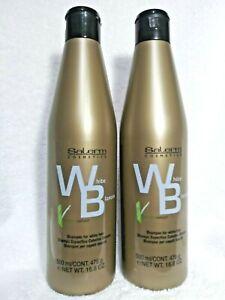 Salerm White Shampoo for white hair-500ml/16.8 oz. (2 Units)