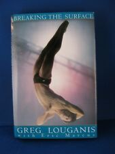 "Greg Louganis Signed Hardback Book Titled ""Breaking the Surface"" with COA"
